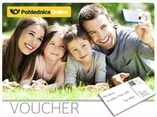 Pohlednice Online Voucher
